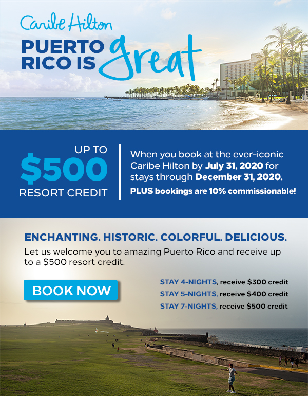 Caribe Hilton: Get Up to $500 in Resort Credits