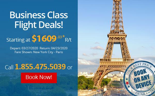 Business Class Flight Deals