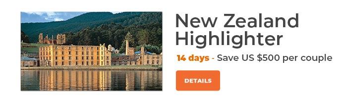 The Royal Tasman Save US$500 per couple