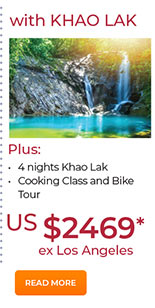 With Khao Lak 4 nights from US$2469. See site for details