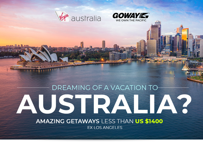 Dreaming of a Vacation to Australia - amazing getaways less than US$2800