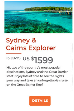 Sydney and Cairns Explorer - 13 days from US$1599