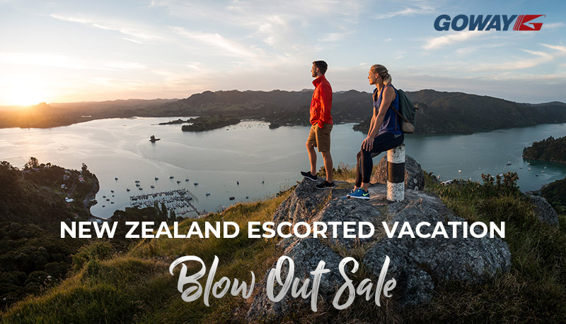 New Zealand Escorted Vacation Blow Out Sale