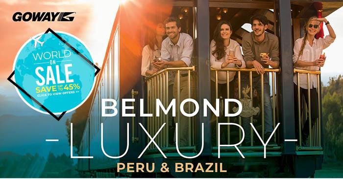 Belmond Luxury Peru and Brazil
