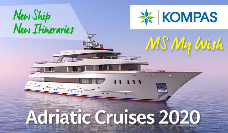 MS My Wish - new deluxe ship in Kompas fleet